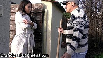 GrandpasFuckTeens She Asked Her Neighbor To Warm Her Up