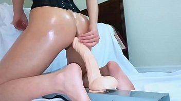 Me Working out a Dildo-www.Slut-Roulette.webcam