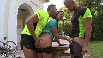 Sex in lycra cycling shorts - Athina outdoor dp
