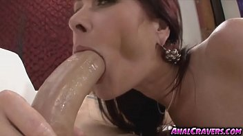Luscious Tiffany Mynx sucking huge meaty hard pole
