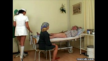 Nubile Nurse Gets a Show Thumb