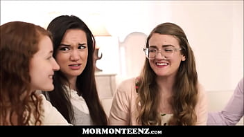 Video mormon ass Four mormon teen sister wives orgasm together after prayer