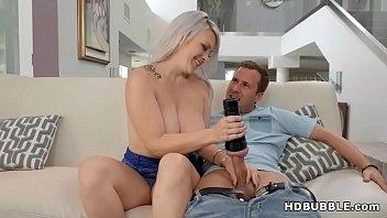 Jessy Jones fucks a big ass blonde