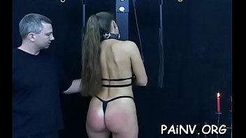 Girl eats cunt and gets humiliated and spanked by a domina
