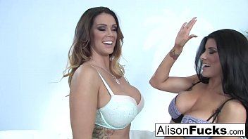Alison Tyler & Romi Rain fuck each other really hard