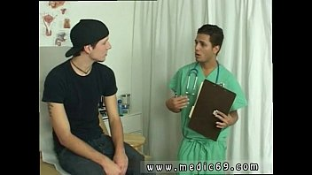 Dark meat gay medical exam Nurse AJ had told me that I could put my