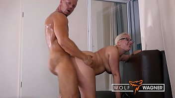PICKED UP & BANGED in Hotel! Horny → Blonde MILF Jana Schwarz ← receives full load of hot sperm in open mouth! ▁▃▅▆ WOLF WAGNER LOVE ▆▅▃▁ wolfwagner.love