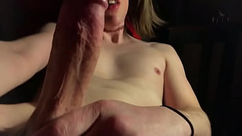 """Young, horny, sissy what 'straight' amateur touching, edging to Gay porn <span class=""""duration"""">9 min</span>"""