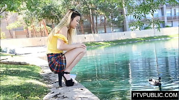 teen chinese upskirt and pissing