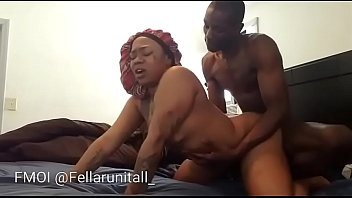 Big booty chick throws ass back & gets pussy filled with cum