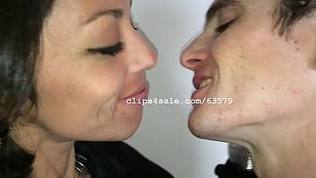 Jimi and Natalia Kissing Video 1