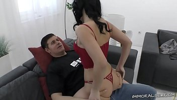 Busty whore gets railed