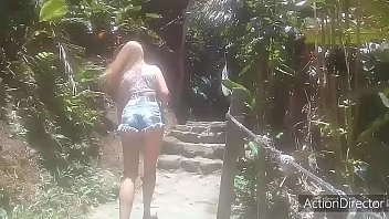 Golden shower on the beach .. (Fire wizard-Fairy Mel-Paty Butt-El Toro by oro-Melissa alecxander-Roberto alecxander)