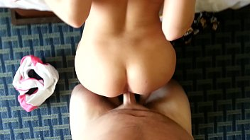 CoverMy sexy little sister shaking her ass onmy dick in the hotel