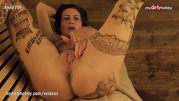 Image: My Dirty Hobby - Busty tattooed MILF blows her man