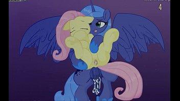 Fluttershy & Luna Lucent Dreams