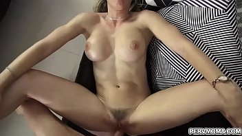 Bigtits mom taking her stepsons cock as she spread her legs!