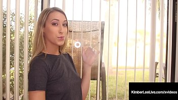 Milking a man fetish Hot fucked up fox kimber lee smokes a cock more