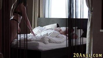 Anal babe masturbating