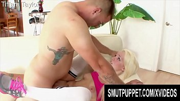 Smut Puppet - Sweet Blonde Teens Getting Stretched Compilation Part 1