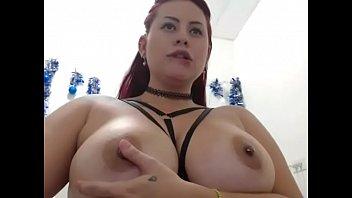 BBW showing fat ass on cam