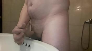 Masturbation de hombres - Masturbacion baño
