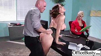 Busty Girl (krissy lynn) Loving Sex Get Banged In Office movie-15