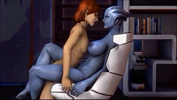Drug effects on sex - Mass effect meets blue is the only colour