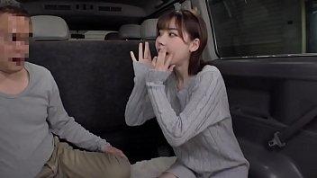 Japonesa Lindinha Dando Dentro De Uma Van