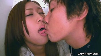 Asian bitch getting her tongue sucked by her man porn thumbnail