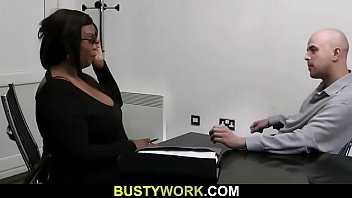 Meeting in office leads to fuck for job