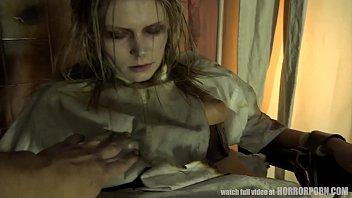 ฮาโลวีน2562 xxxโหดจัดผีสาวซอมบี้โดนจับมัดขึงพืดกับเก้าอี้ก่อนโดนท่อนควยยัดกระแทกหีจนน้ำแตก