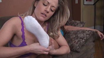 Foot blowjobs by blonds - Intense foot worship by blonde