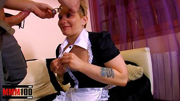 Ugly submissive maid hardcore part 1