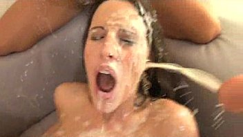 Kourtney Kane and friends drowned in cum