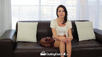 Brunette sexy xxx Castingcouch-x - brunette renne roulette fucked on the casting couch