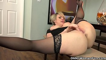 Free video older sexy women masturbating You shall not covet your neighbors milf part 143