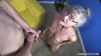 Free granny cumshot video thumbs - Horny granny gets splattered