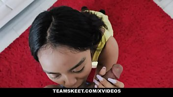 Team Skeet - Hispanic Teen Luna Mills May Be New To Porn But She Sucks Cock Like A Seasoned Pro