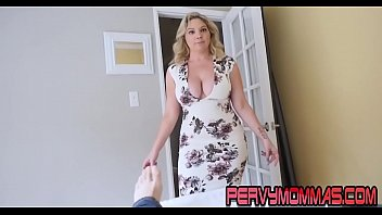 Horny Busty Milf Sucking And Jerking Off Cock Pov Style
