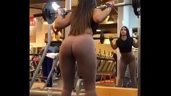 Tgp gym Nena en el gym