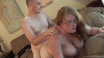Chubby chick with big tits fucked hard