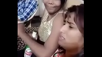 Swathi naidu having Hookah for first time