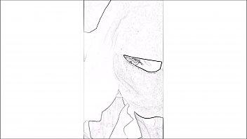 Arabic comic - niqab blowjob - Beurette cartoon Thumb