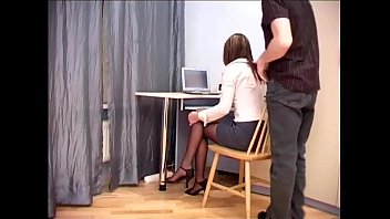 Stories about pantyhose Secretary office sex in sheer crotchless hosiery