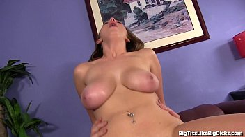 Tight Busty Brunette Gets Fucked Hard!