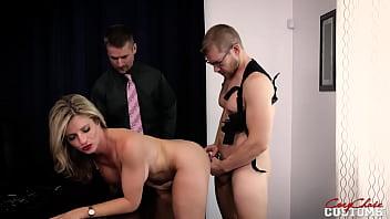 Hot milf vs Mafia Boss - Threesome - Cory Chase 20 min