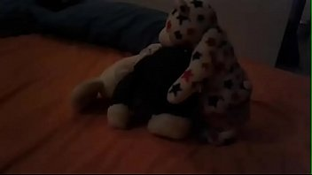 Teady bear with big ass and tits get fucked by other tedy bear with big dick