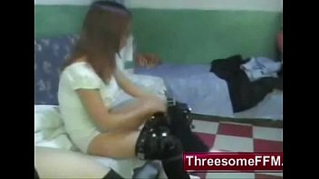 Xiao Huang and his Two Chinese Bitches - threesomeffm.com