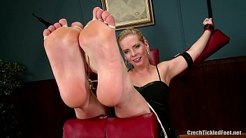 Vilma's Feet are Tickled